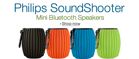 Philips Mini Bluetooth Speakers