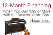 Musical Instruments 12-Month Financing