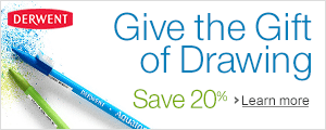 Save 15% on Derwent Drawing Supplies