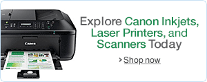 $50 off select Canon Printers with purchase of a PC