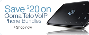Save $20 on Ooma Telo VoIP Phone Bundles