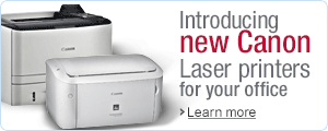 Introducing all new Canon Single Function Laser printers from your office