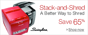Swingline Stack-and-Shred