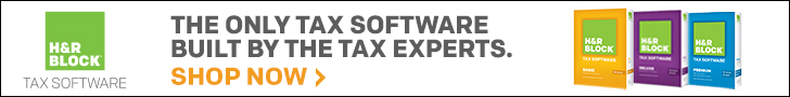 H&R Block Tax Software 2013