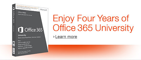 Enjoy 4 Years of Office University