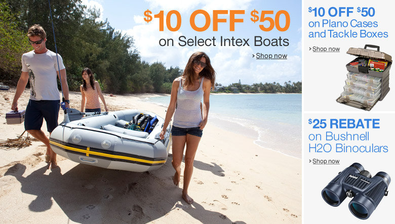 Up to 40% off Select Intex Boats