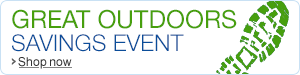 Hot deals in the Great Outdoors event
