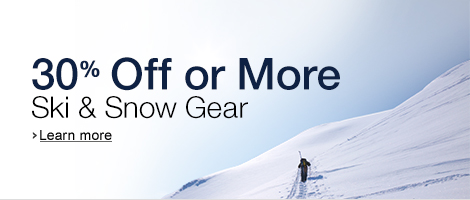30% or More Off Select Snow Gear