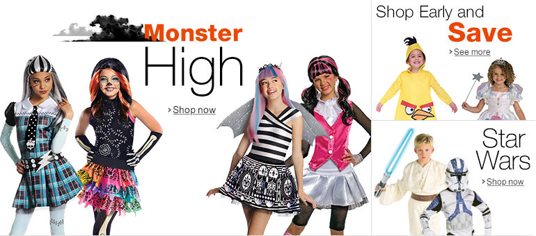 deals promotions sales coupon details kids halloween store 2013 at amazon