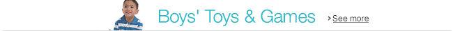 Boys' Toys