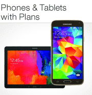Phones and Tablets with Plans
