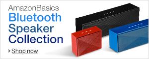 AmazonBasics Bluetooth Speakers