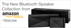 AmazonBasics Bluetooth Speakers