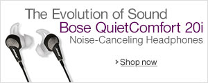 Bose QuietComfort 20i Noise-Canceling Headphones