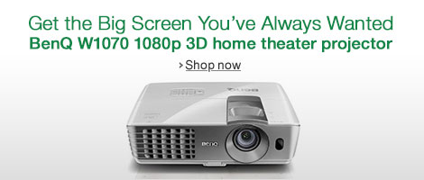 BenQ W1070 Home Theater Projector