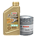 Buy Select Castrol EDGE Oil, Get a Free Bosch Filter