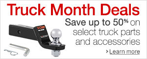 Truck Month Save Up to 50% on Select Truck Parts & Accessories