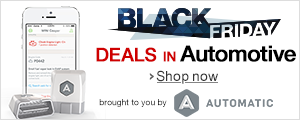 Black Friday Deals Week - Brought to you by Automatic