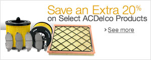 Save an Extra 20% on Select ACDelco Parts