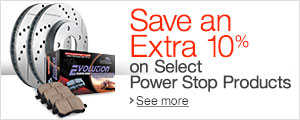 Save an Extra 10% on Select Power Stop Parts