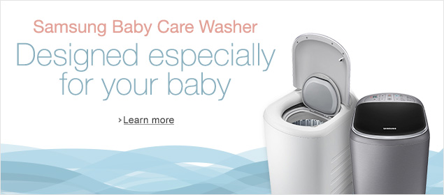 Samsung Baby Care Washer