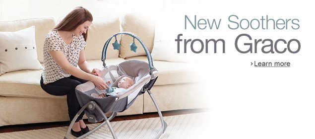 New Soothers from Graco