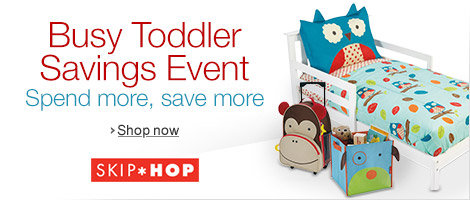 Busy Toddler Savings Event