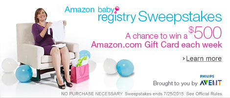 Baby Registry Sweepstakes