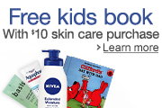 Get a Free book when you Spend $10 on Nivea, Aquaphor, or Eucerin