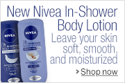New Nivea In-shower Body Lotion