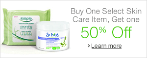 Buy One Select Skincare Item, Get One 50% Off