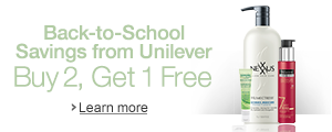 Buy 2, Get 1 Free: Back to School Savings from Unilever