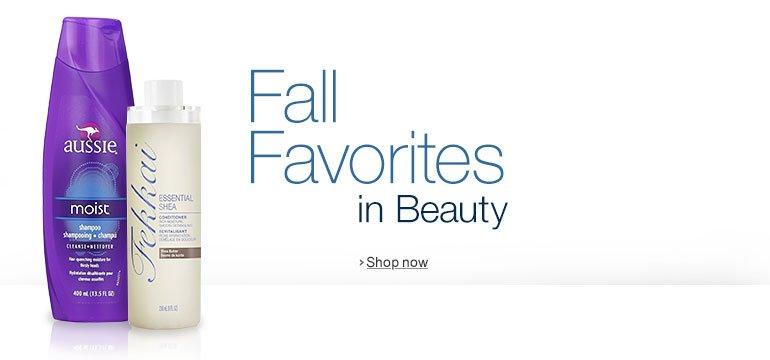 Fall Favorites in Beauty