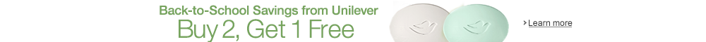 Buy 2, Get 1 Free: Back-to-School Savings from Unilever
