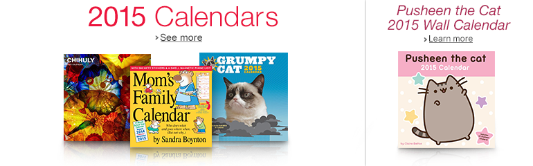 2015 Calendars and Pusheen the Cat 2015 Wall Calendar
