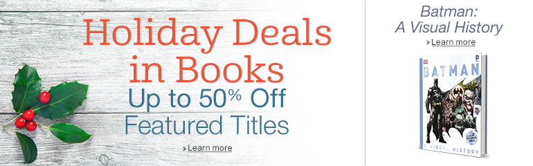 Holiday Deals in Books & Batman