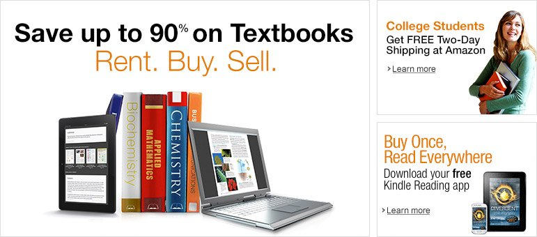 Save Up to 90% on Textbooks