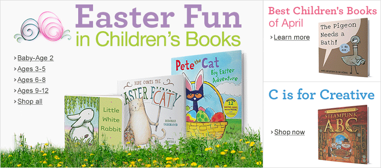Easter Fun in Children's Books
