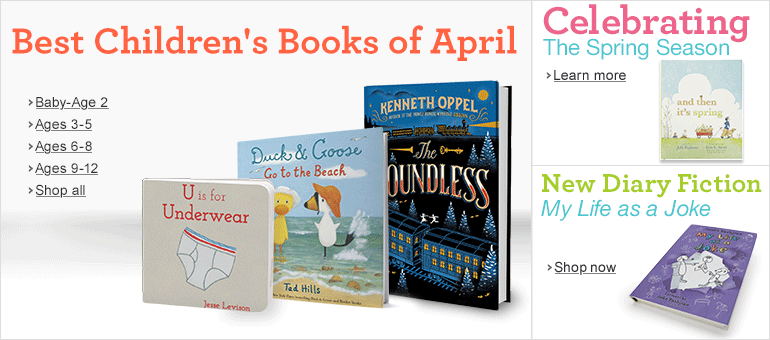Best Children's Books of April