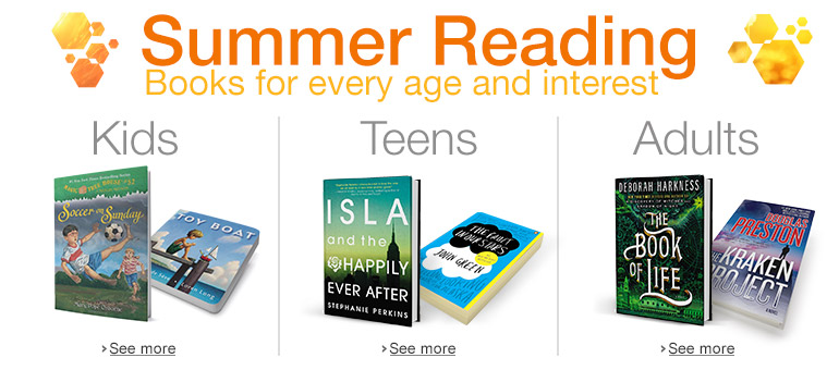 Summer Reading: Books for Every Age and Interest