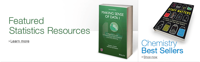 Featured Statistics Resources and Chemistry Best Sellers