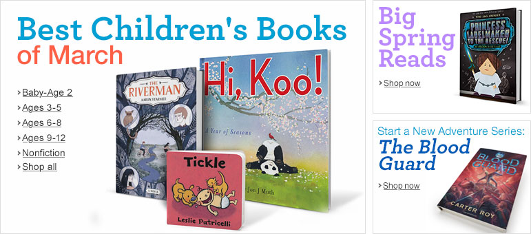 Best Children's Books of March