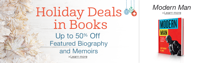 Holiday Deals in Books; Modern Man