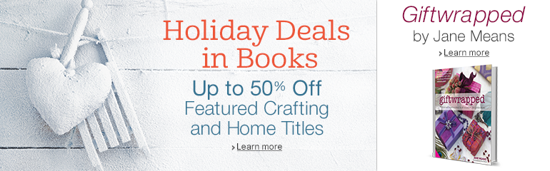Holiday Deals in Books and Giftwrapped