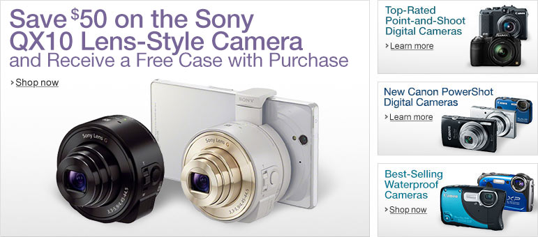 Amazon Point-and-Shoot Cameras