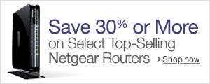 Save 30% Or More on Select Netgear Routers