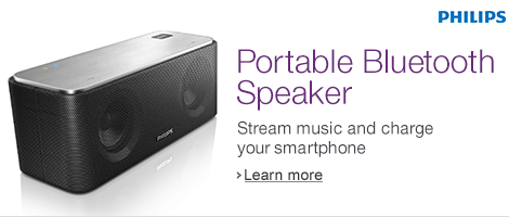 Modern Philips Bluetooth speaker