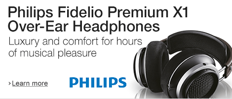 Philips Fidelio X1 Premium Headphones