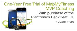 Plantronics Back Beat Fit + MapMyFitness