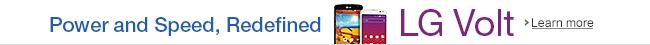 LG Volt Prepaid Phone